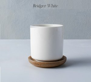 brillante taza de cerámica blanca sin mango para la cantidad grande de la cantidad grande de la orden té / café / decoración de la mini orden 1pcs puede disfrutar de descuentos especiales