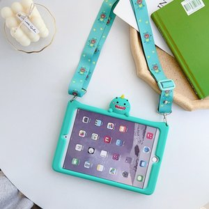 Kids Shockproof Safe Case for iPad Mini 4 5 Cartoon Stand Tablet Cover for New iPad 10.2 2019 iPad Air Air2 11 10.5 Inch