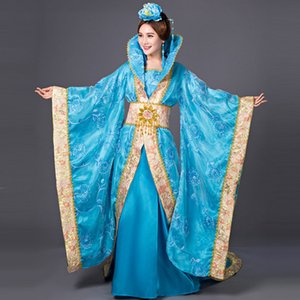Chinese Han Dynasty Court Dress Dramaturgic Dress Women Ancient Infanta Costume Peri Theatrical Draggle-tail High Quality