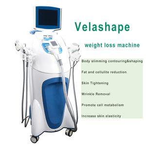 5 IN 1 velashape Cellulite Reduction Slimming Machine Ultrasound cavitation velashape rf weight loss body slimming free shipping