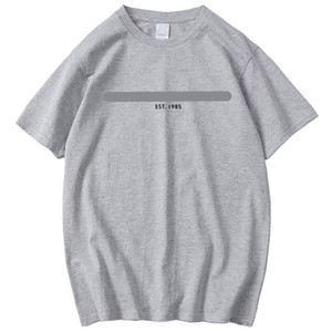 Mens Summer Luxury Tshirts Crew Neck Short Sleeve Solid Color Homme Clothing Letter Print Fashion Style Casual Apparel