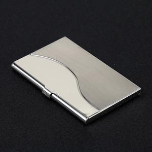 Yeni Moda Metal Cüzdan Şerit Rengi Çok Tasarımlar Kartvizit Klip Yüksek Kalite Kimlik Kartları Tutucu Taşınabilir 5 8sxa E1