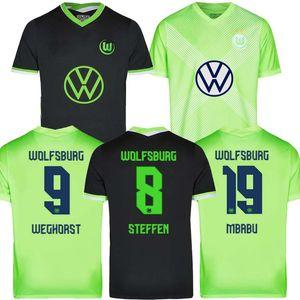 20 21 VfL Wolfsburg maillots de football Weghorst ARNOLD 2020 2021 MALLI Brekalo football shirt MEHMEDI Maillot de foot ROUSSILLON XAVER Camisetas