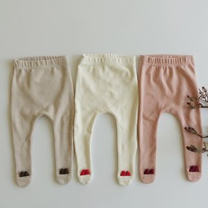 No.5 Children Spring Autumn Tights Cotton 0-2Yrs Baby Girl Pantyhose Kid Infant Cotton Collant Tights Soft Infant Clothing