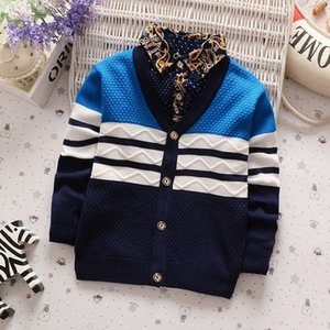 BibiCola Baby boy Pull 2017 New Arrival Vêtements Bebe Garçons Cardigan Outwear Manteau Printemps Automne enfants Jumpers
