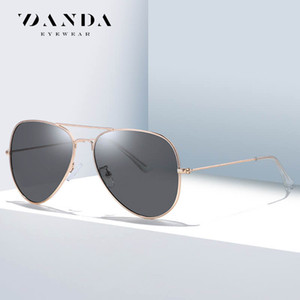De alta calidad de las gafas de sol de aviador, gafas de sol de las mujeres, una variedad de gafas de sol de los hombres retro de alta calidad, tendencia de la moda diseñador de marcos de metal t