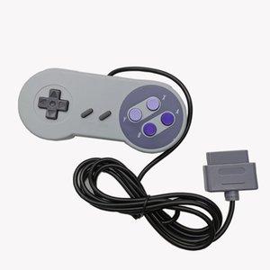 Snes classique Gamepad Manette Joypad Game Controller Port USB filaire pour Gamepads SNES Jeux Style pour PC Windows Tablet En stock