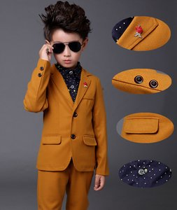 Boys suits for weddings Kids Prom Suits Formal Dress for Boys Children Piano Performance Tuexdo Blazers for Girls Costume Garcon