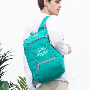 Kamp Katlama çanta Seyahat Tırmanma Açık Bag IKING kaliteli Dayanıklı Naylon Unisex Ultralight Katlanabilir Su geçirmez sırt çantası