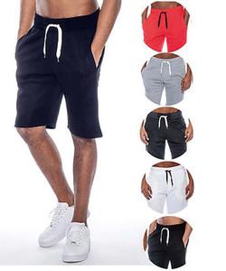 Mens ocasional del verano Tech Fleece Sweat holgada Beach pantalones casuales hombres Daily ropa corta