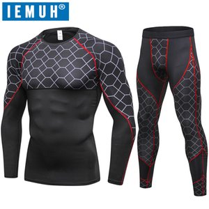 2018 New Autumn Winter Thermal Underwear For Men Quick Dry Elastic Compression Warm Long Johns Male Casual Thermo Underwear Set