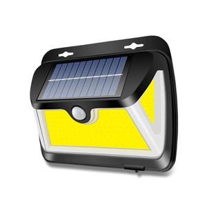BRELONG Solar COB Индукционная свет стены с трех сторон подсветкой Открытый водонепроницаемый сад Забор освещение уличный свет