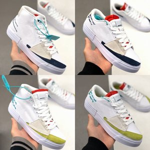 2020 New SB Zoom Blazer Mid Bord Femmes Hommes Chaussures de course Blazers Skateboard Sneakers Casual des Chaussures Sport Chaussures