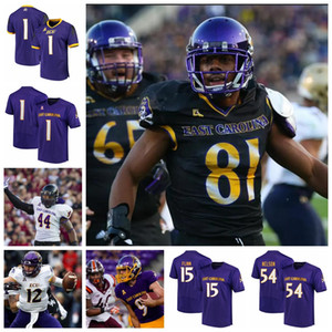 Ecu East Carolina Pirates Jerseys Holton Ahlers Jersey Tyler Snead Trace Christian Trevon Brown College Football Trikots Individuell genäht