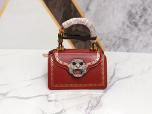 Tasarımcı lüks çanta cüzdan bayan omuz çantası tasarımcısı Messenger çanta malzeme parlak Güney Afrika sığır derisini 488.667 ithal