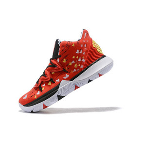 mens kyrie irving 5 scarpe da basket x Sneakers Room Mom Red Floral Heart nuovi arrivi lebron 16 kyries sport tennis con box size 7 12