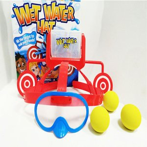 Novelty Challenge Wet Water Hat New Exotic Toy Dunk HAT Board Game Table Water Toy Children's Educational Gifts