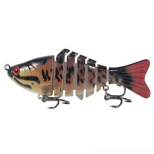 FpEFL Carp Fishing Lure Hard Bait 115mm 14g Aritificial Wobblers Pike Plastic Baits Crankbait Pencil Lures Swimbait Pesca Isca T191016