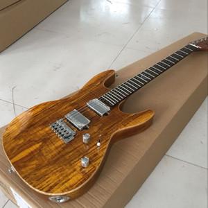 Neue Art, hohe qualityCustom klassische elektrische Gitarre, Handarbeit 6 Strings elektrische gitaar, Palisander Griffbrett guita .Real Fotos