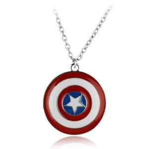 Kaptan Amerika Kolye Avengers Dönebilen Pentagram Kolye Kolye Moda Hediye Avengers Takı Aksesuarları