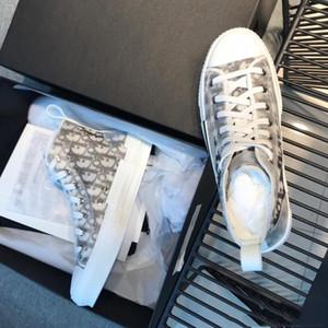 Dior shoes  B23 Las zapatillas de deporte Zapatos de mujer sentido técnico de envío de alta marco superior del cordón de los deportes ocasionales de la estrella del Bajo-Top cl
