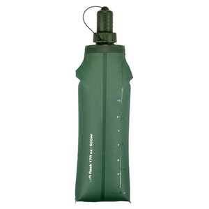 oft Flask Sport Wate Collapsible Drink Water Bottle Water Bag Running Camping Hiking