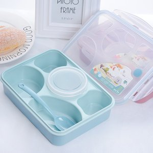 TUUTH bonito Lunch Box Portátil Microwavable Kid Adulto Bento Caixas Leakproof estilo japonês Food Container T191014