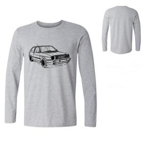 Men Long sleeve Car Tees Men's Clothing Male high harajuku Fitness Japanese Car Fans Golfs Gti Mk2 Inspired Car Christian T Shir