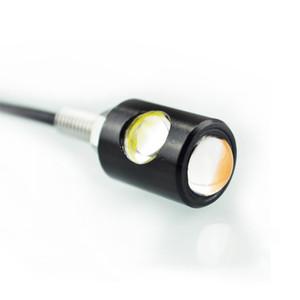 듀얼 컬러 높은 품질 자동 램프 LED 12V 오토바이 테일 번호 번호판 나사 볼트 전구