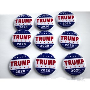 NEW Trump Metal Badge 2020 Tinplate Pins America President Republican Campaign Political Brooch Coat Jewelry Brooches Gifts