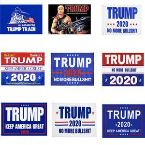 Trump 2020 Banner Flags 90 * 150cm Donald Trump Halten Make Amerika Große Flagge 11 Styles Trump-Zug-Party DA599 Banner Flags