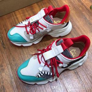 Novo [caixa original] moda camuflagem calçado desportivo homens e mulheres par sapatos baixos de luxo esportes de moda e sapatos de lazer instrutor populares