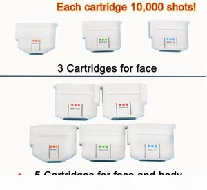 Replace Cartridge Tips 10000 Shots for High Intensity Focused Ultrasound HIFU Vaginal Machine Face Skin Lifting Wrinkle Removal Beauty Salon