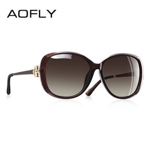 AOFLY disegno di marca di lusso delle donne occhiali da sole polarizzati 2020 Lady Occhiali da sole femminile strass Tempio Shades Eyewear UV400 A151 T200511
