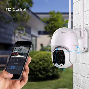 Sdeter 1080p Güvenlik Wifi Kamera Açık Ptz Speed Dome Kablosuz IP Kamera Pan Tilt 4x zoom Ses Ir Gözetleme P2P Camer