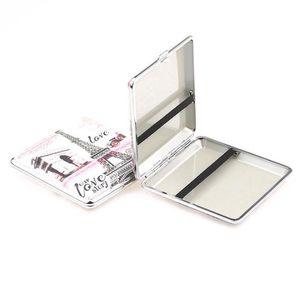 Nouvelle mode Lady impression couleur porte-cigarette cas Boîte de rangement tabac 20pcs Capacité 92mm Longueur 2 Styles cadeau pour les femmes Sales