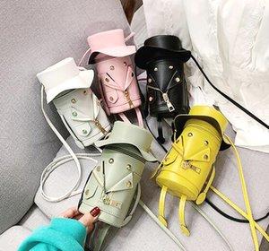Best-selling fashion brand recommended girl straw hat cartoon bucket bag children cute shoulder messenger bag mobile change pocket mini bag