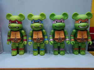 Quente 400% 28 cm O clássico filme Bearbrick Urso Popular Figuras Brinquedo Para Colecionadores Seja @ RBrick Art Modelo Decoração Brinquedos Presente