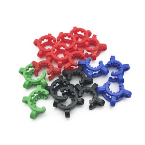 Tubi 10 millimetri 14 millimetri 18 millimetri di plastica Keck clip comune per DAB Rig Bong adattatore Downstem bicchiere d'acqua Acquistare 10pcs ottiene gratuitamente 5cs