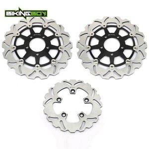 BIKINGBOY For GSX-R 1000 03 04 2003 K4 GSXR 600 750 2004 2005 05 K5 Front Rear Brake Discs Disks Rotors Full Set Motor