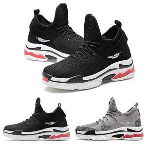 2020 fresco gota envío shop01 type4 blanco suave cojín negro de encaje rojo muchacho joven de los hombres corrientes zapatos de diseño ENTRENADORES zapatillas deportivas