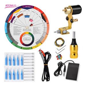 Machine Complete Kit Rotary Machines Motor Liner Shader Pen Professional Gun Kits Tattoo Motor Kit Complete Rotary Machine Gun