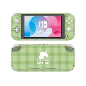 Pantalla de la piel de vinilo pegatinas Interruptor protector para Nintendo Lite serie de juegos Interruptor Lite NSL Decal Pegatinas Skins Animal Crossing