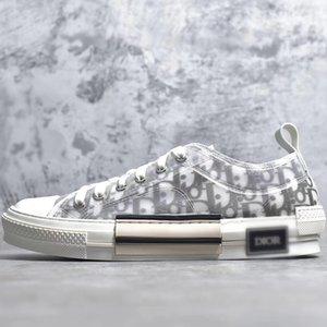 With Box Díor Oblique Homme X KàWS By Kìm Jones B23 Men Women Fashion Designres Triple S Casual Shoes High Top Sneakers Skateboard Shoes
