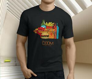Nouveau Populaire MF Doom Rap Hip Mm alimentaire Hop Hommes T-shirt noir Taille S 3XL