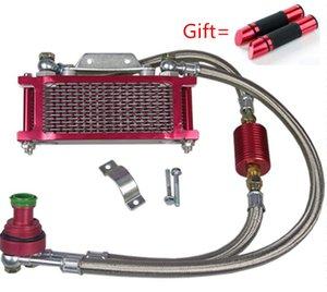 CG125 CG150 CG200 cG250 radiador de la motocicleta sistema de refrigeración del motor de aleación de cg Zongshen Lifan motocross accesorios envío libre
