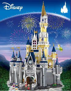 Cinderella Princess Castle City Model Building Block Kid Toys For Children Gift 4080Pcs Compatible with inglys 71040