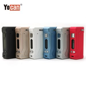 Authentische Yocan UNI Pro Battery Box Mods 650mAh vorheizen VV Batterie mit einstellbarer Höhe und Breite Fit Alle 510 Oil Cartridge IN-STOCK