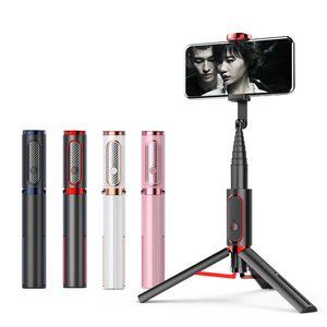 Cross Border Hot Selling Phantom 202 Bluetooth Selfie Stick Aluminum Alloy Belt Reinforced Mobile Phone Tripod Mini Selfie Stick