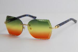 Бесплатная доставка 8200762 без оправы Белый планка солнцезащитные очки высокое качество новая мода старинные очки на открытом воздухе вождения очки бренд дизайн 2020 горячий
